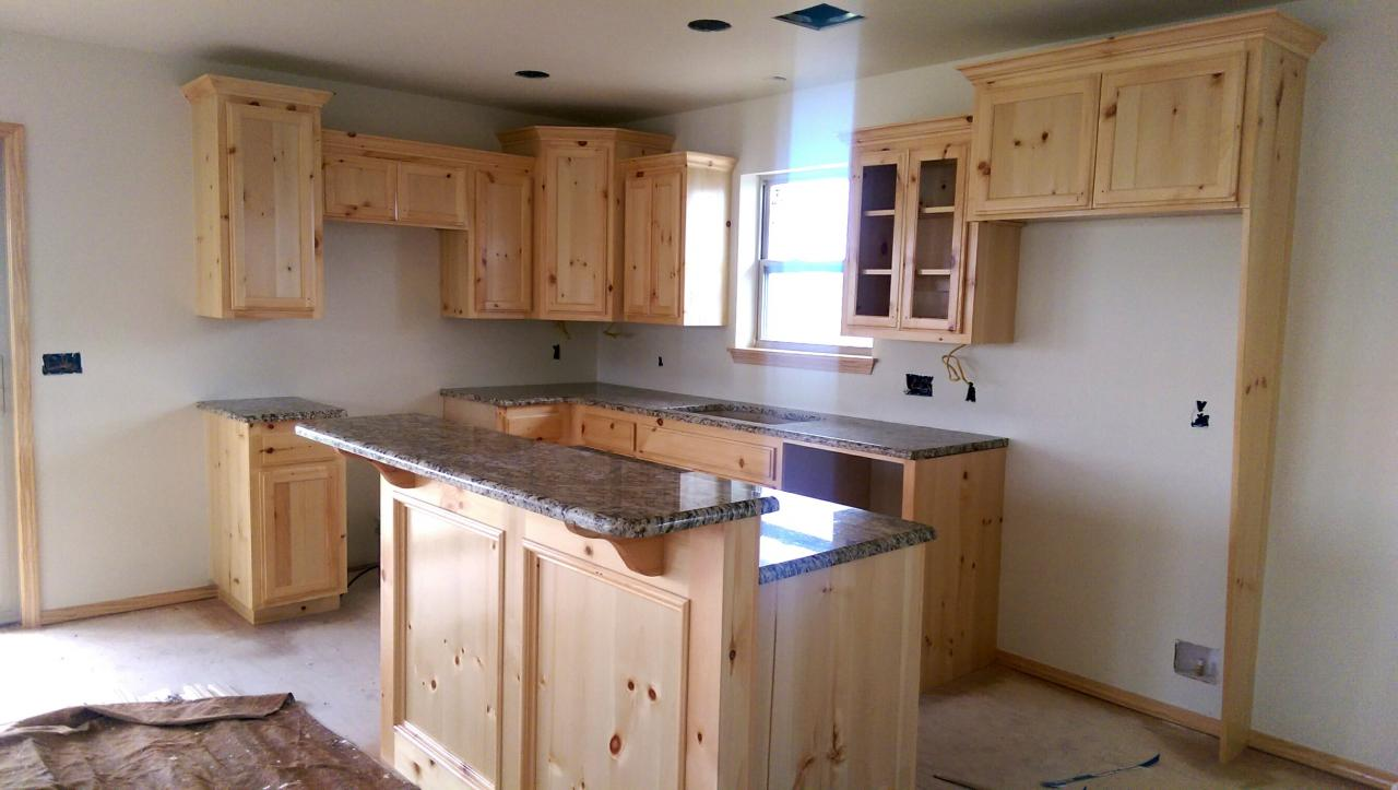 Log Siding, Metal Roof, Knotty Pine Cabinetry, Granite Countertops And Oil  Rubbed Bronze Accents. Located On Our Shawnee Lot At 37521 45th St.